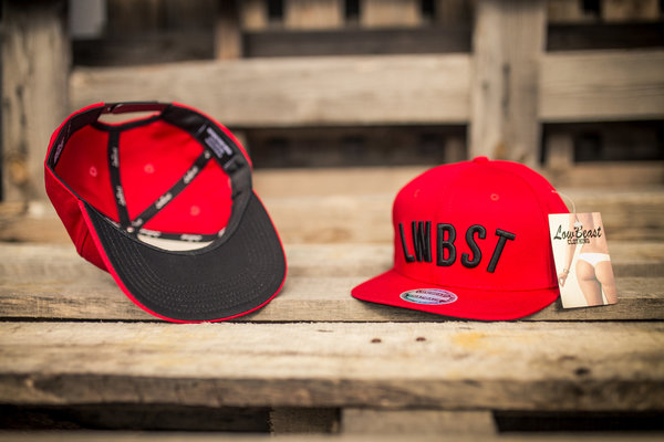 [LOWBEAST] Snapback LWBST RED